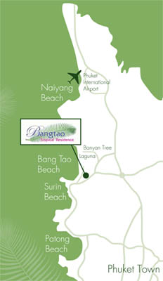 Bangtao Tropical Residence - Location